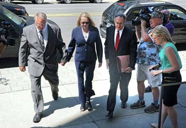 Former Halfmoon Supervisor Melinda Wormuth's criminal case looked at the connections between her town administration and Saratoga County developers, including one who gave Wormuth and her husband a payment for $50,000. (Lori Van Buren / Times Union) Photo: Lori Van Buren / 00032952A