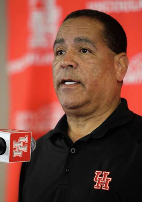 This is Kelvin Sampson's fourth overseas trip with one of his teams. Photo: Melissa Phillip, Staff / © 2014  Houston Chronicle