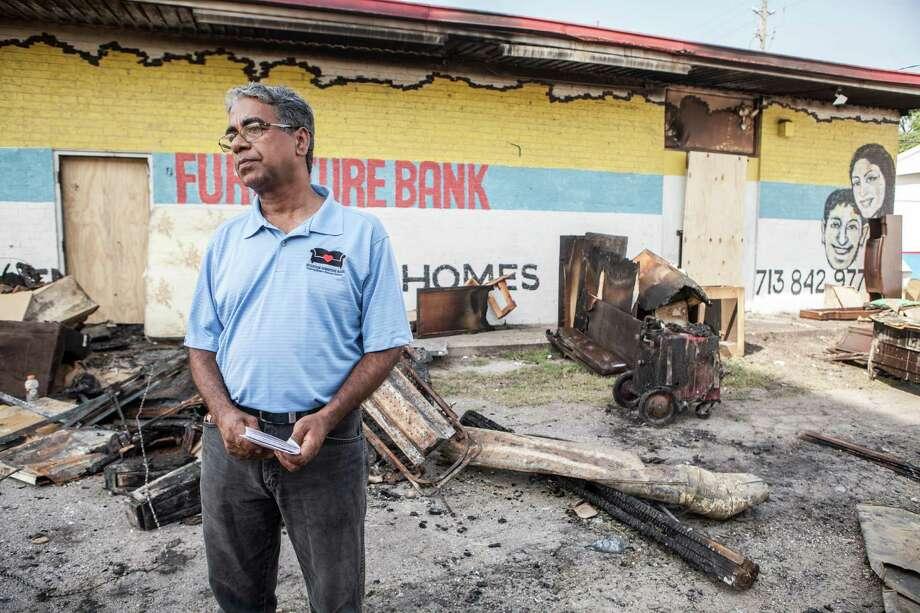 Burned Furniture Bank Seeks To Rebuild So No One In Houston Sleeps On The Floor Houston Chronicle