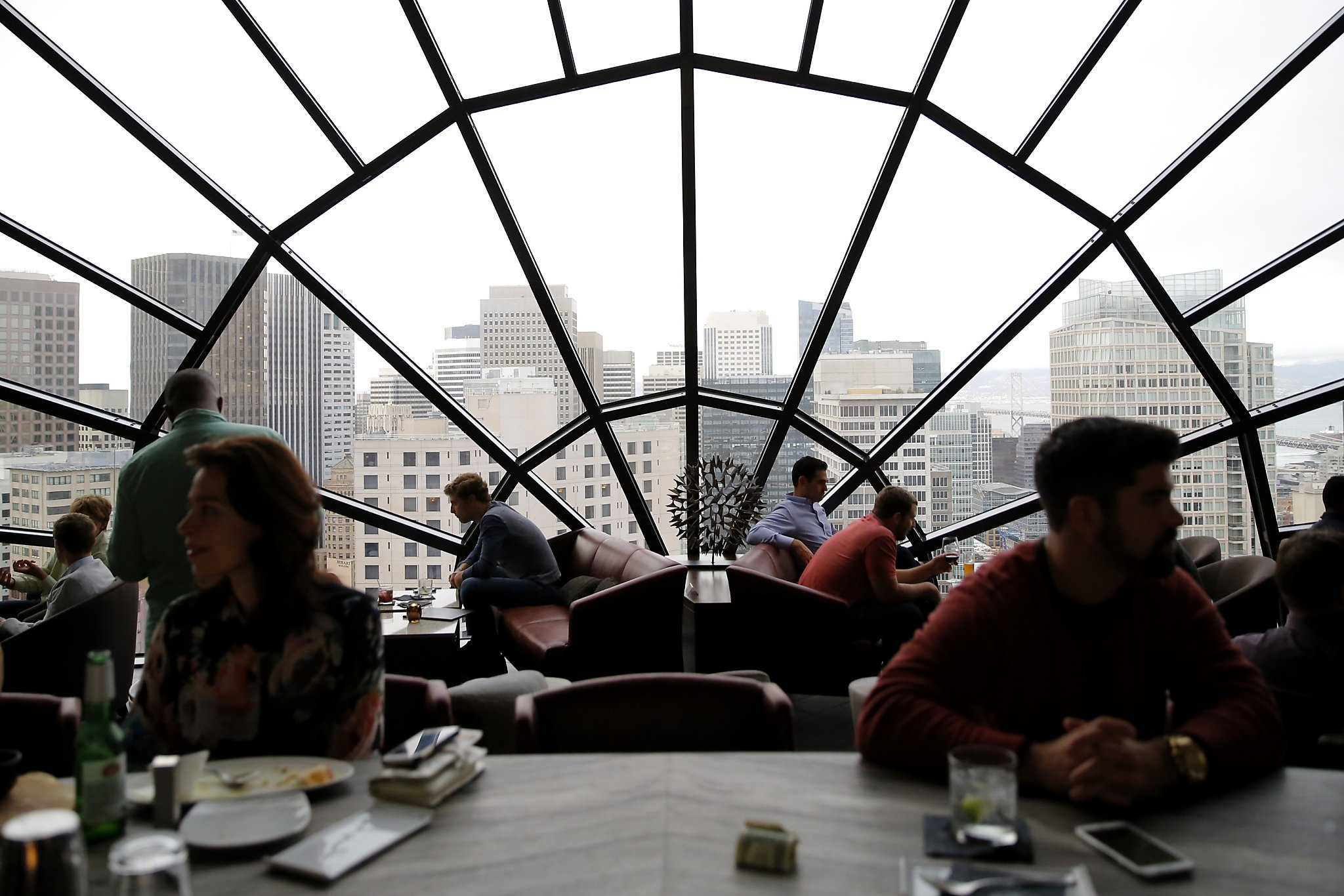 S F Doesn T Suffer From Lack Of High Rise Observation Decks Sfchronicle