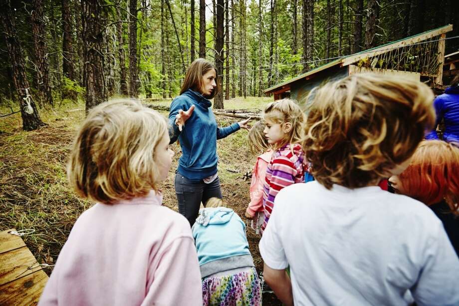 "Camp counselorNumber of job openings: 515 | This job is typically seasonal or part time, making it a good fit for students. Workers are required to be certified in CPR and first aid. ""Camp counselors are the caretakers for children of all ages, and are generally responsible for playing sports and games with campers while maintaining an upbeat attitude to match the energy of young kids,"" Glassdoor wrote. Photo: Thomas Barwick, Getty Images"