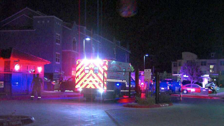 A woman was injured Monday after a gunman opened fire at an apartment complex on the East Side. Photo: 21 Pro Video