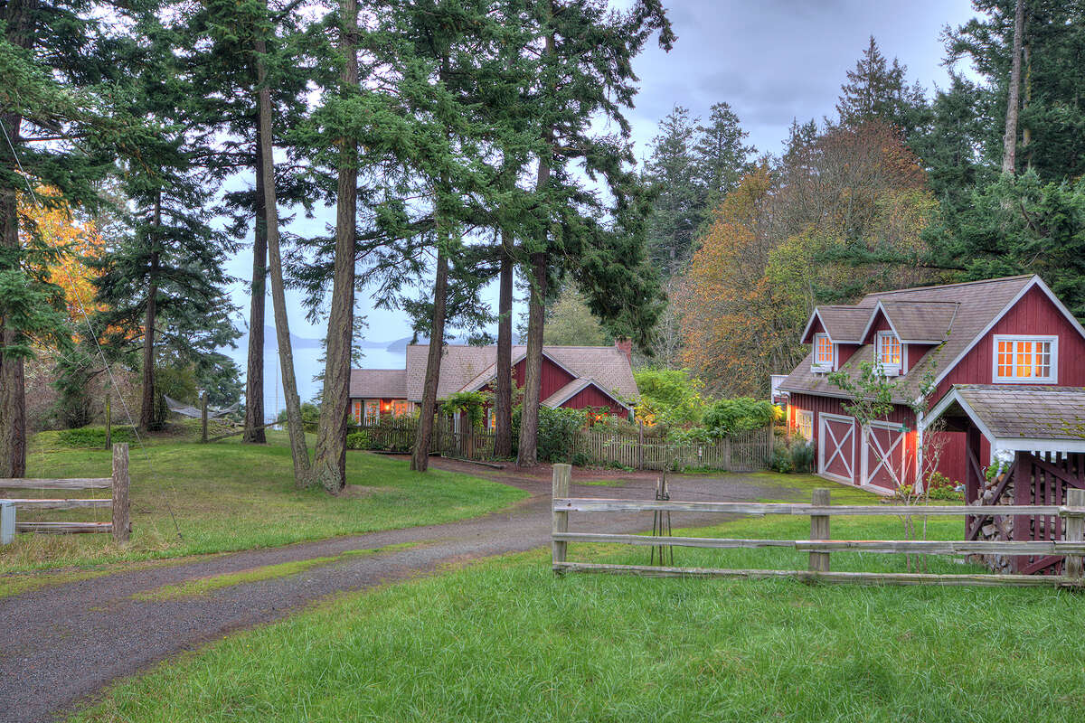 Who doesn't want to have a family compound? Here's one option on Orcas Island in the San Juans. For the full listing, go here.