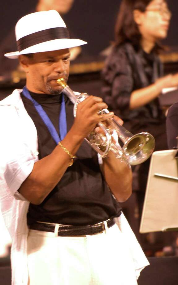 Fairfielder Kenton Clarke has been playing the bugle in drum-and-bugle corps since he was 8. A recent inductee into the World Drum Corps Hall of Fame, he still plays in a local drum-and-bugle corps and community band. Photo: Contributed Photo / Fairfield Citizen