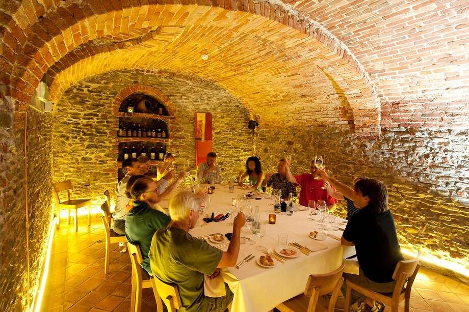 Participants on Ciclismo Classico's new culinary cycling tour of Italy's Piedmont region can sample varietals such as Barolo, Barbera and Barbaresco. Photo: Ciclismo Classico