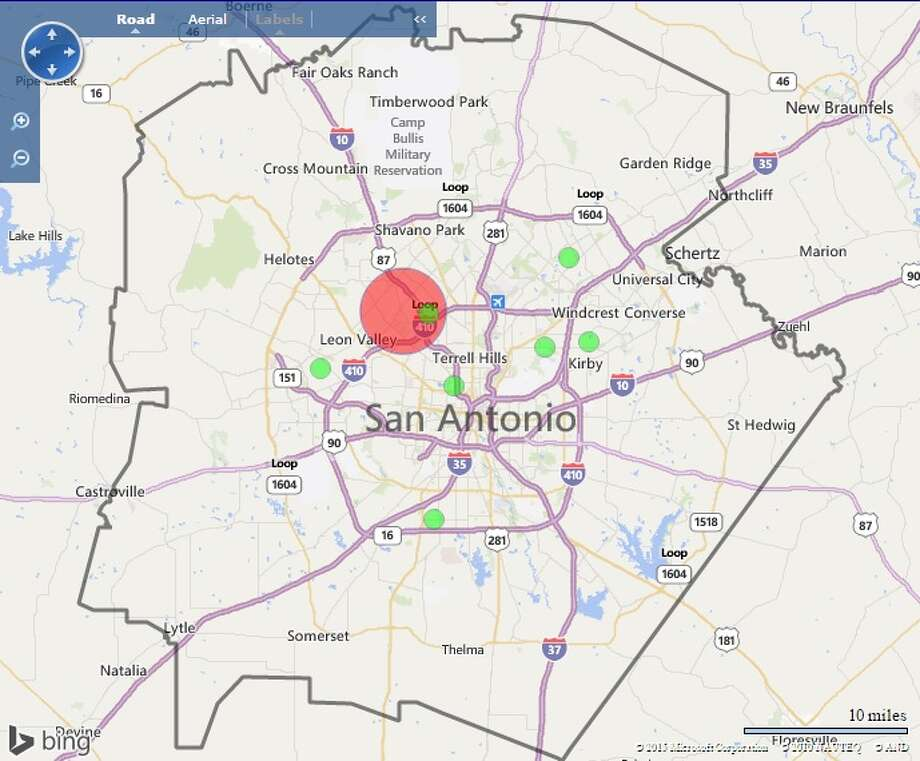 More than 4,000 people were without power Tuesday morning on the Northwest Side. Photo: CPS Energy