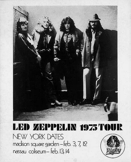 Led Zeppelin in 1975: You can be nostalgic about the present, too. Photo: Ledzeppelin.com