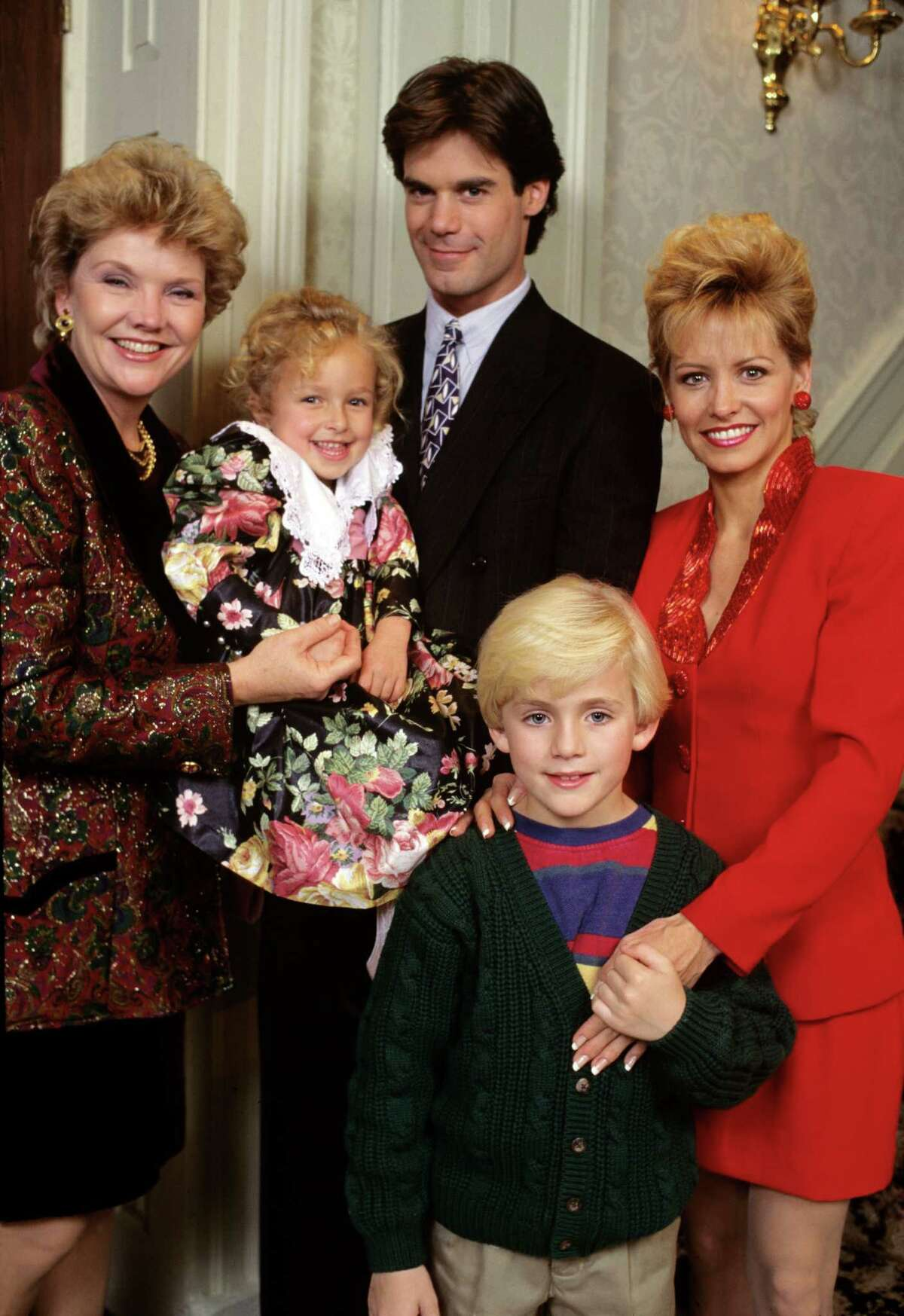 Here is a young Hayden Panettiere as the little girl (Sarah) on ABC Daytime's