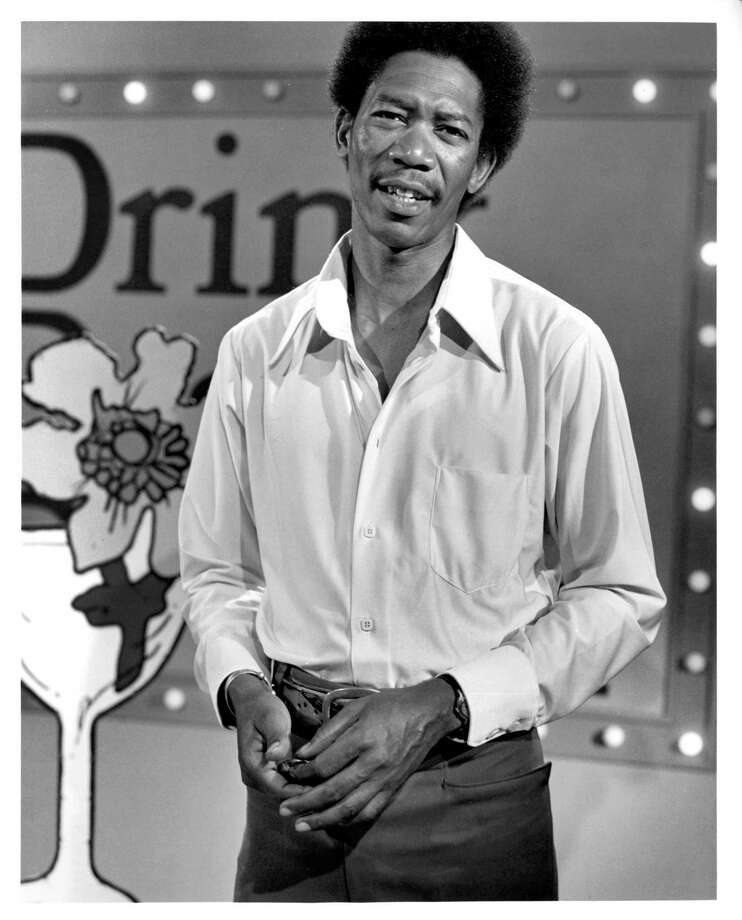 Publicity still of American actor Morgan Freeman in the PBS TV series 'The Electric Company,' 1971. Photo: John D. Kisch/Separate Cinema Ar, Getty Images / Archive Photos