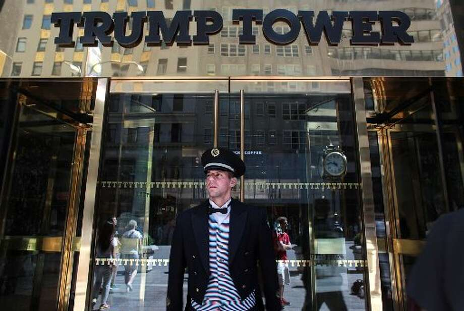 In contrast to his father, Donald Trump has made his name synonymous with luxury properties such as Trump Tower in Manhattan, his first namesake project, finished in 1983.