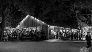 Dance hall by night.   www.luckenbachtexas.com