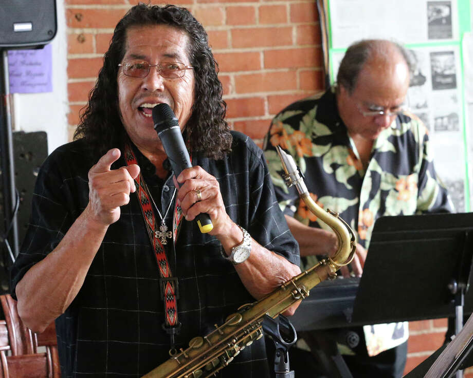 Frank Rodarte combines with Luvine Elias at Harper's Creole Kitchen  on July 28, 2015. Photo: Tom Reel / San Antonio Express-News