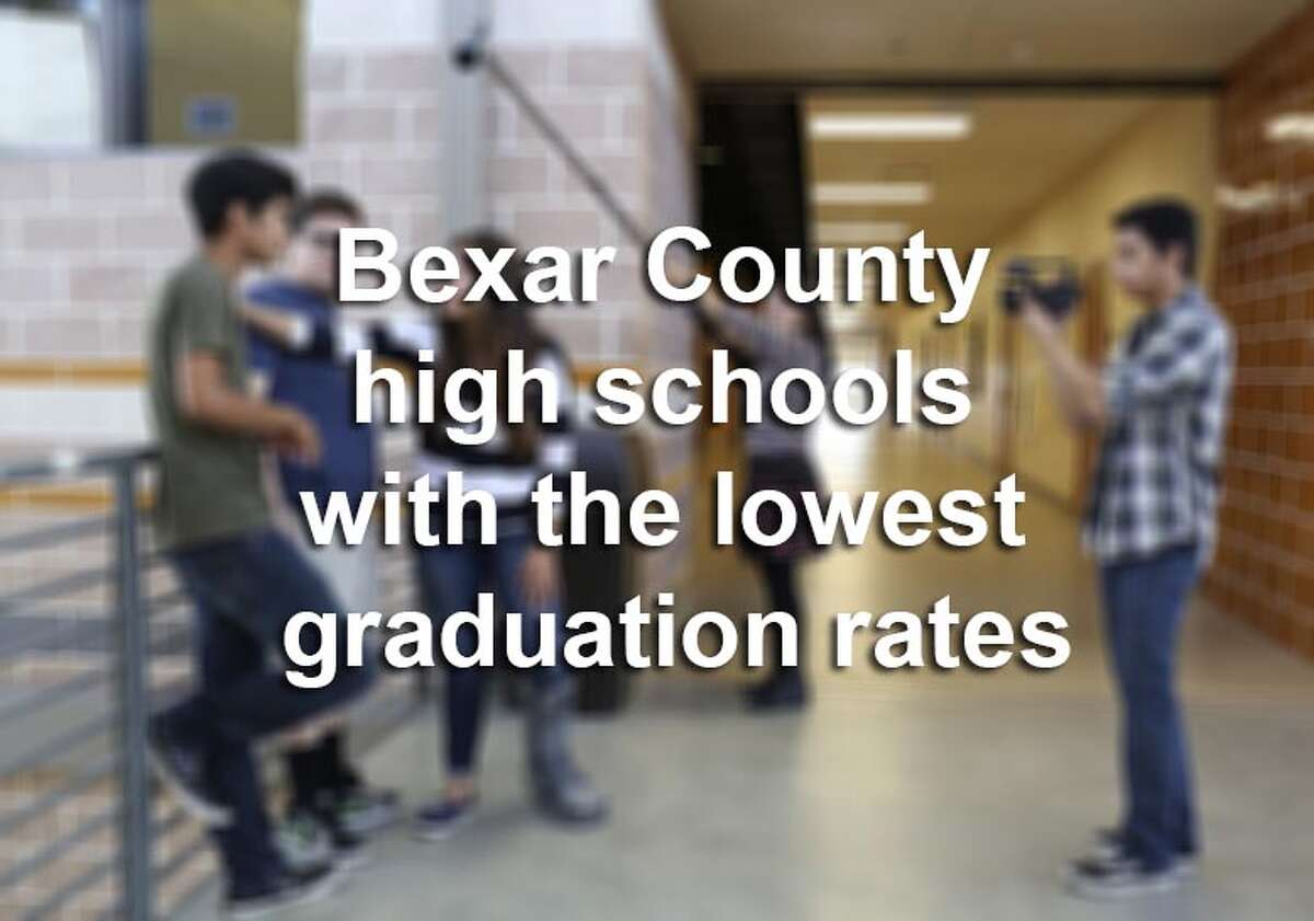 Scroll through to see which 20 high schools in Bexar County had the lowest graduation rates during the 2013-14 school year. (Note: This excludes charter schools, magnet schools and alternative high schools.) Source:Texas Education Agency