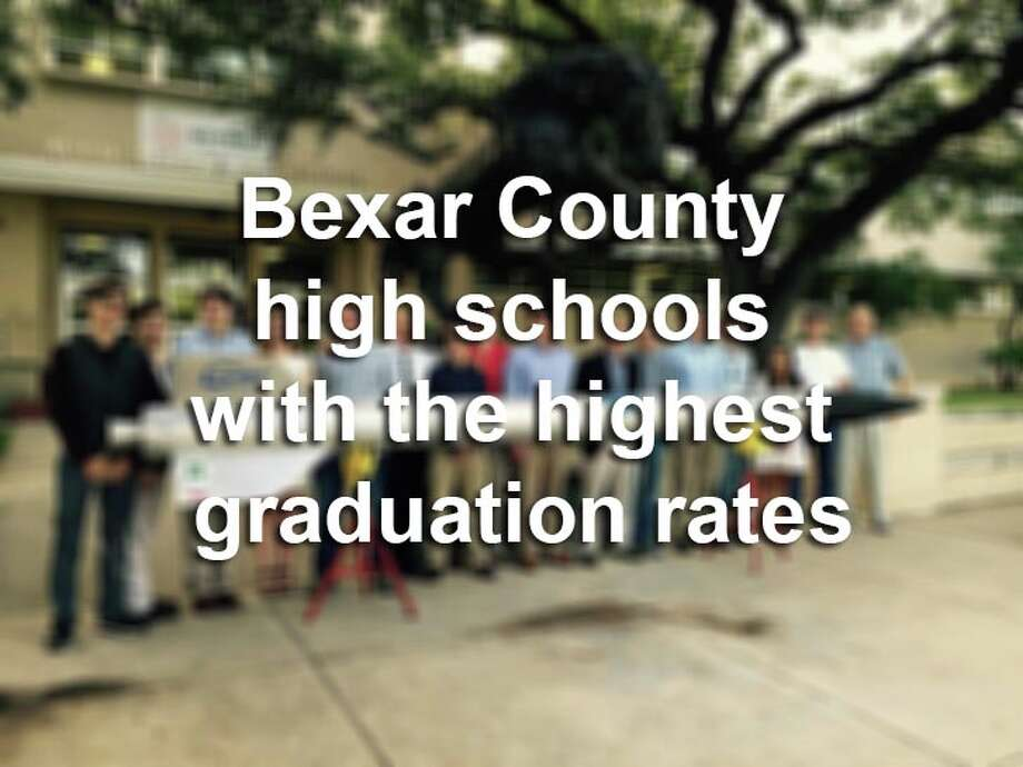 Scroll through to see which 20 high schools in Bexar County had the highest graduation rates during the 2013-14 school year.Source:Texas Education Agency Photo: File