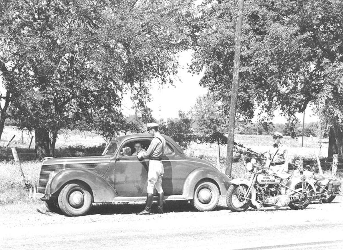 3. Troopers were first established as the Texas Highway Motor Patrol in 1929, six years before the Texas Department of Public Safety began. These early troopers were one of the first law enforcement agencies in Texas history, next to the Texas Rangers.