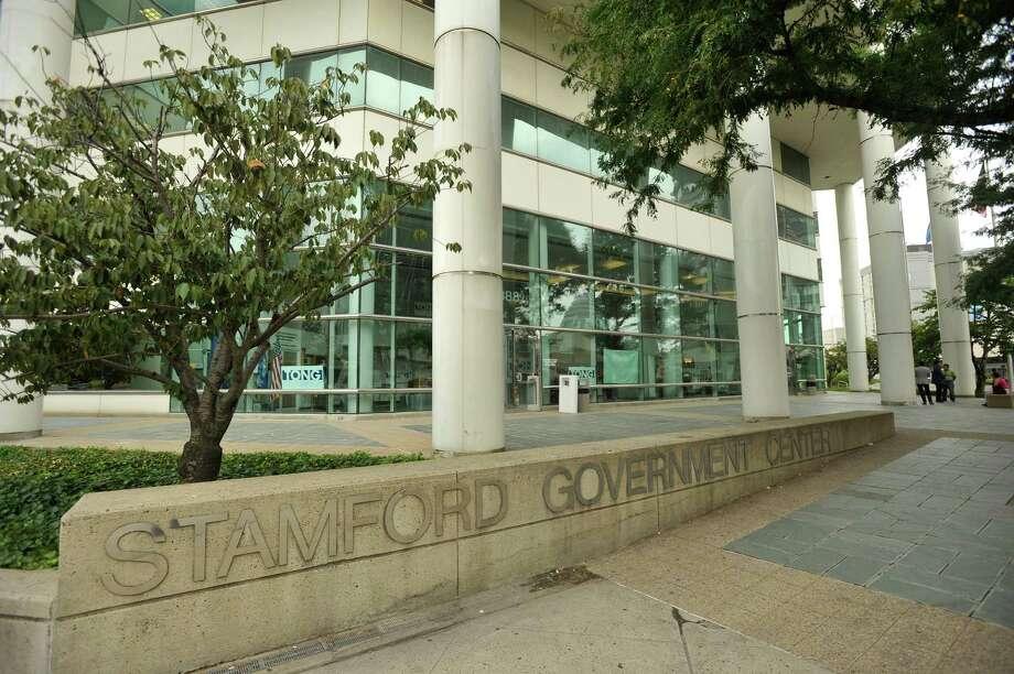 The Stamford Government Center was photographed on Monday, Aug. 26, 2013 Photo: Jason Rearick / Jason Rearick / Stamford Advocate