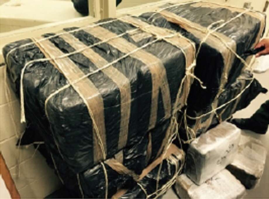 Border Patrol agents in Texas' Del Rio sector seized 488 pounds of marijuana from a pickup truck when the driver fled. PHOTOS: See 25 more big Texas border busts from Summer 2015 ...