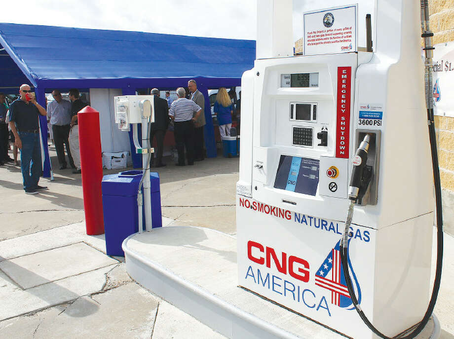 A new compressed natural gas station is now open in Katy. A new compressed natural gas station is now open in Katy. Photo: CNG 4 America