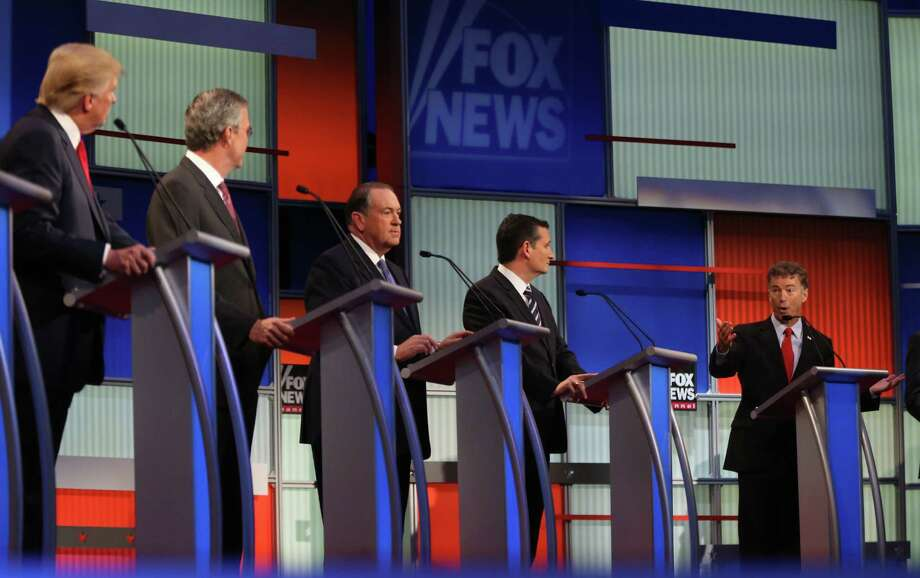 Republican presidential wannabes did not focus on President Barack Obama's policies duirng last week's debate because GOP predictions of disaster were wrong. Photo: Andrew Harnik /Associated Press / AP