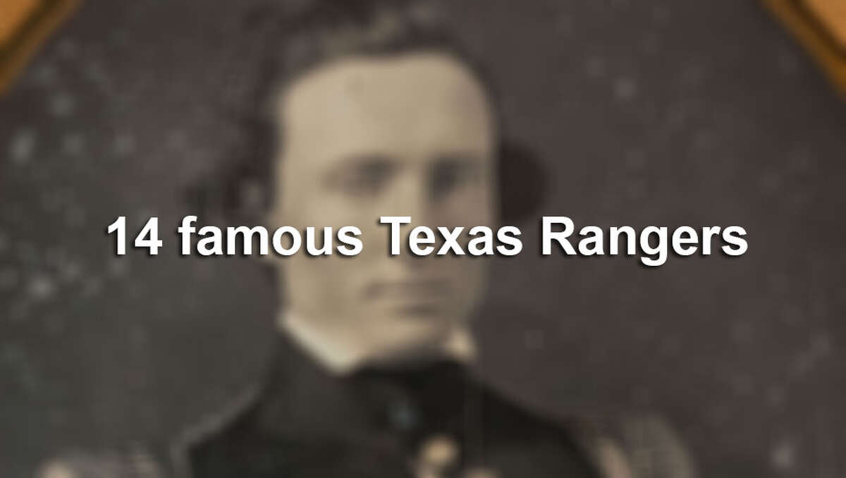 Click through the slideshow to view 14 famous Texas Rangers.