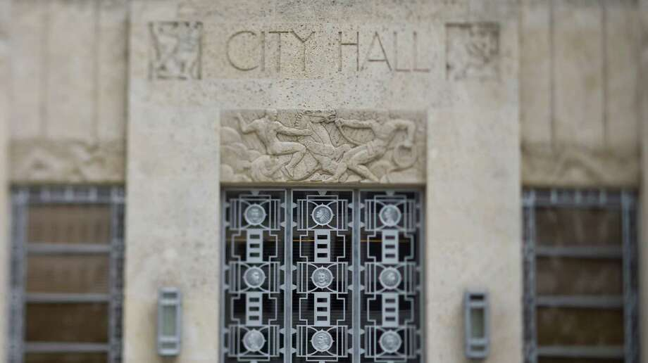 Stock image of Houston City Hall Sunday, Feb. 8, 2009, in downtown Houston. Photo: Nick De La Torre, Staff / Houston Chronicle