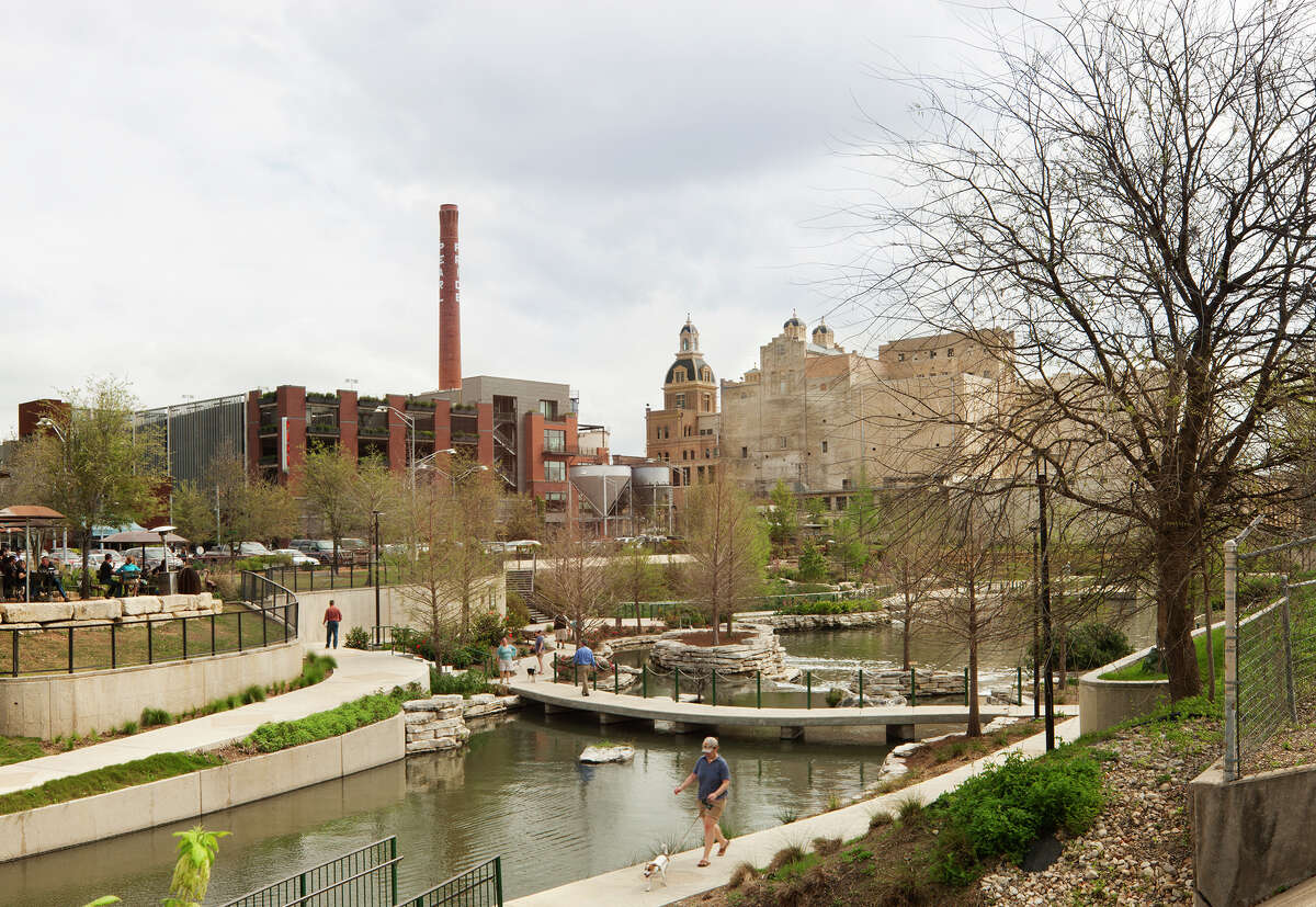 Lake Flato has overseen the master planning for the redevelopment of the Pearl Brewery.