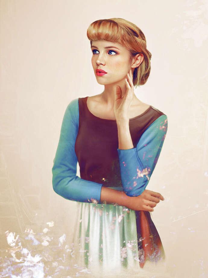 Cinderella in the Real Life Disney collection by Jirka Väätäinen. Photo: Courtesy Of Jirka Vinse Jonatan Väätäinen