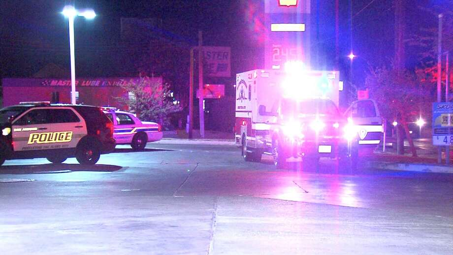 A man and woman were hospitalized Wednesday morning following a motorcycle crash on the North Side. Photo: 21 Pro Video