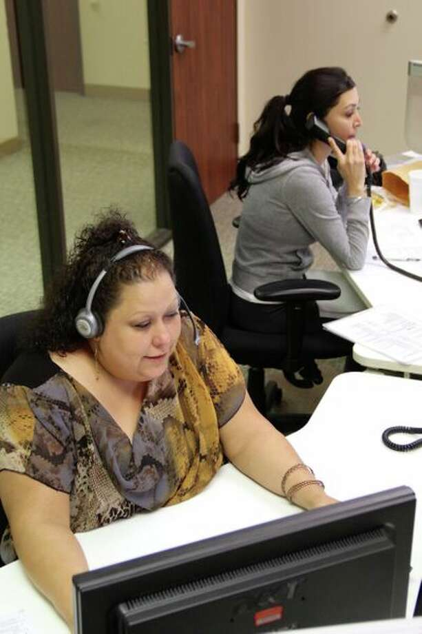 Frances Parilla volunteered with the Houston Area Women's Center's hotlines for domestic abuse and sexual assault victims. Photo: Courtesy