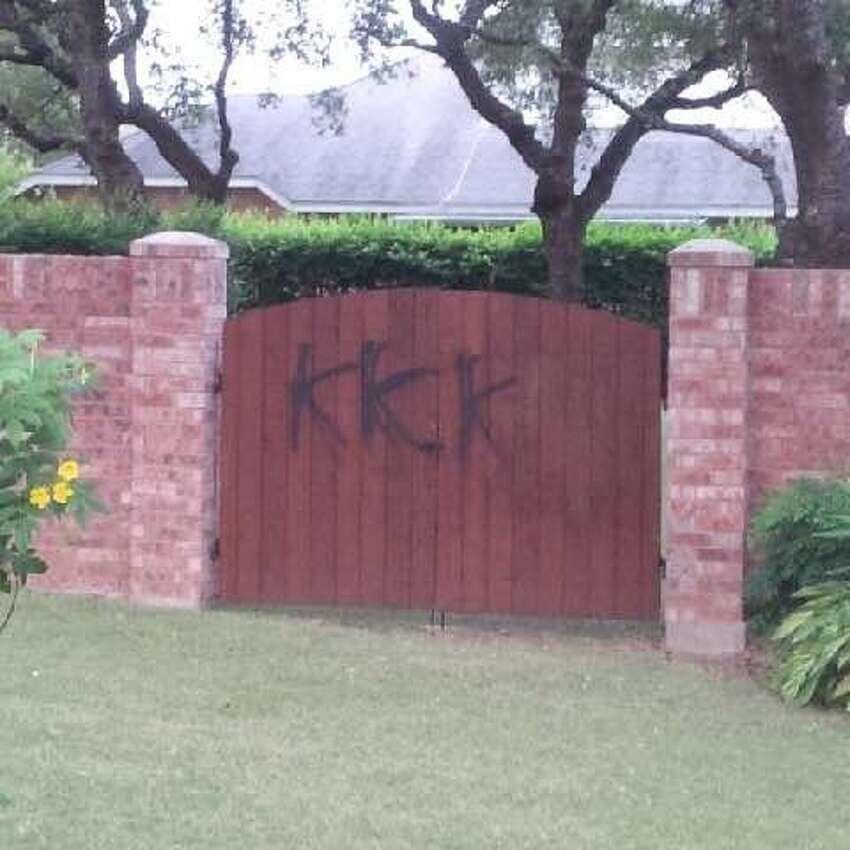 A Northwest Side community woke Wednesday morning to anti-Semitic vandalism.