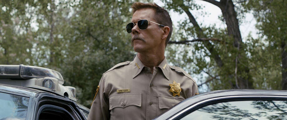"Kevin Bacon stars in ""Cop Car."""