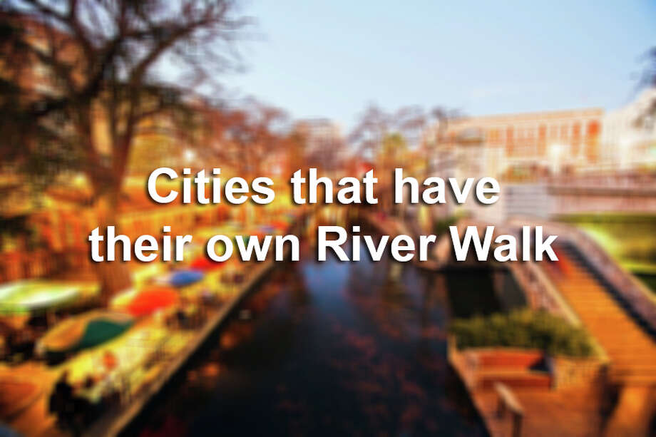 "Click through the slideshow to see other cities that have ""copied"" the River Walk. / (c) Bob Stefko"