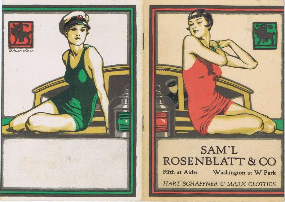 I found this small, vintage catalog (booklet sized) at a flea market recently. The great flapper girl front and back covers don't hint at what's inside. It's a men's fashion collection from 1926. I'm including the captions as they appear in the booklet. The images are very Great Gatsby. I hope you enjoy the images. Photo: From The Collection Of Bob Bragman