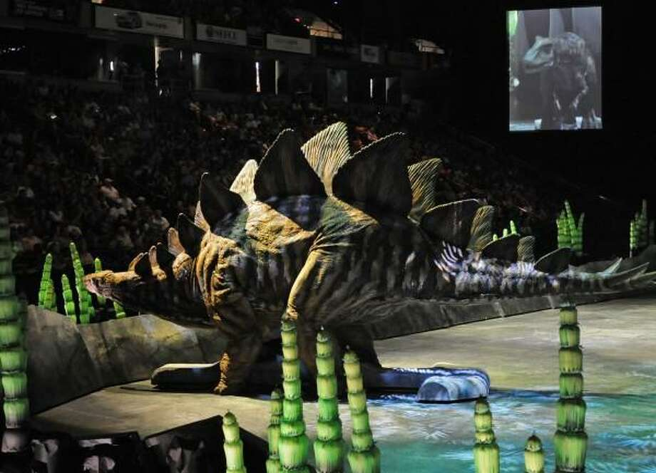 """Discover the Dinosaurs"" at Times Union Center Times Union archive photo"