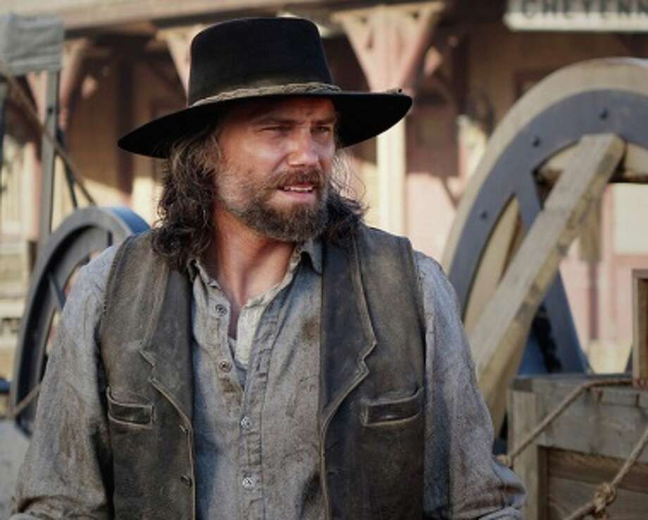 """Anson Mount as Cullen Bohannon in """"Hell on Wheels"""". Season 4 is new available on DVD."""