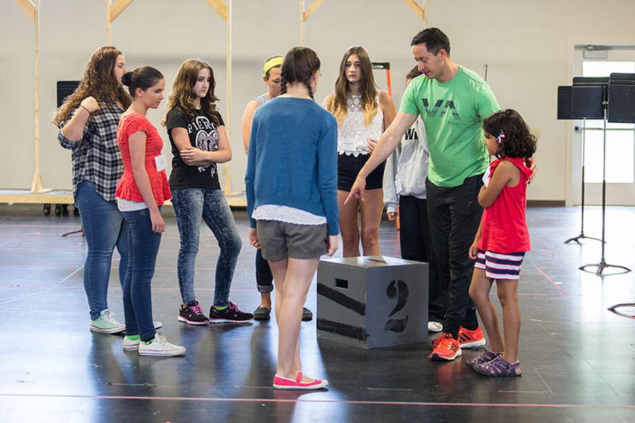 Odyssey rehearsals at Glimmerglass: Karli Cadel / The Glimmerglass Festival. Photo: Karli Cadel / © 2015 Karli Cadel