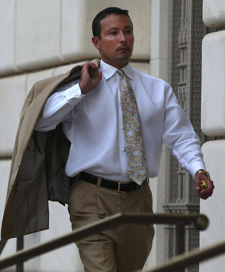 San Antonio oil and gas businessman Brian Alfaro enters the Hipolito F. Garcia Federal Building and United States Courthouse. Investors in Alfaro's company allege they've been defrauded and want the court to order Alfaro to turn over his personal financial records and to freeze any personal assets. Alfaro's lawyers contend the matter should be abitrated and not litigated as an adversary proceeding in bankruptcy court. U.S. Bankruptcy Judge Craig Gargotta is likey to take up the matter of whether Alfaro destroyed or threw out documents belonging to the company, which is now being overseen by a Chapter 11 trustee. Photo: John Davenport /San Antonio Express-News / ©San Antonio Express-News/John Davenport