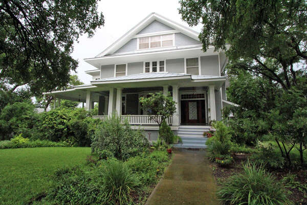 The three-story arts and crafts-style house was built around 1910. At some point it was converted into nine apartments. Juan and Irene Ramirez returned it to a single-family home after they bought it in 1991.