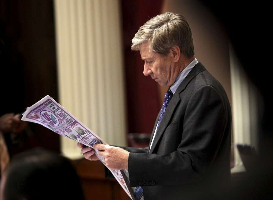 George Runner, the Republican vice chair of the Board of Equalization, supports an excise tax on medical marijuana. Photo: Rich Pedroncelli, AP