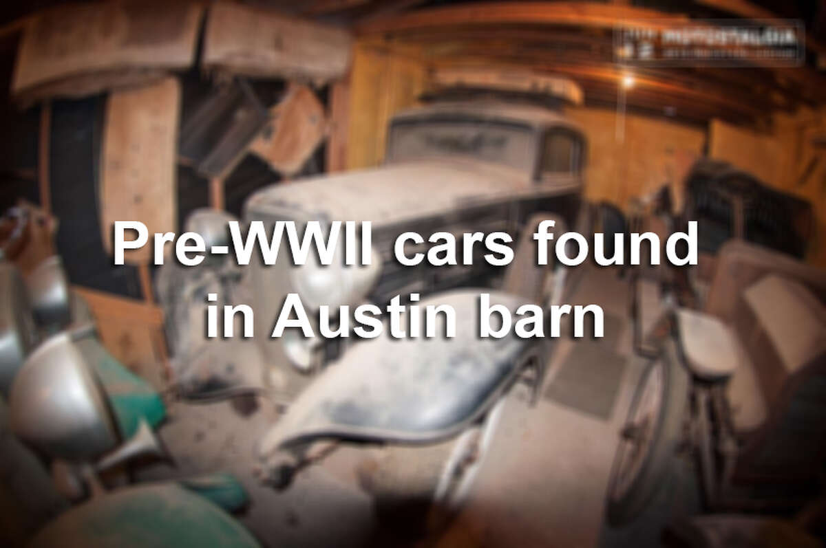 A car collector was shocked to find about $700,000 worth of vintage cars covered in dust in an Austin barn.