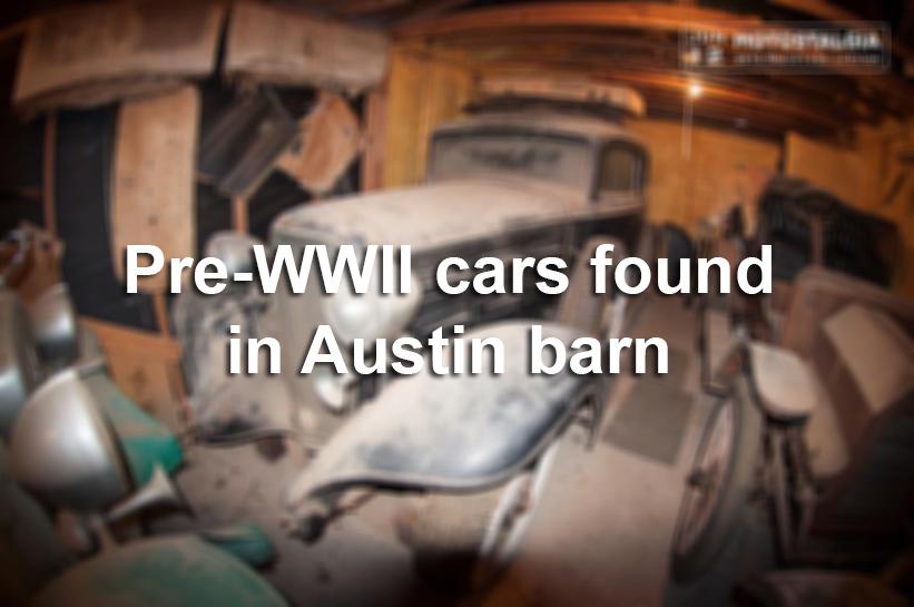Five Pre Wwii Era Cars Worth 700k Discovered In Barn Austin Texas San Antonio Express News