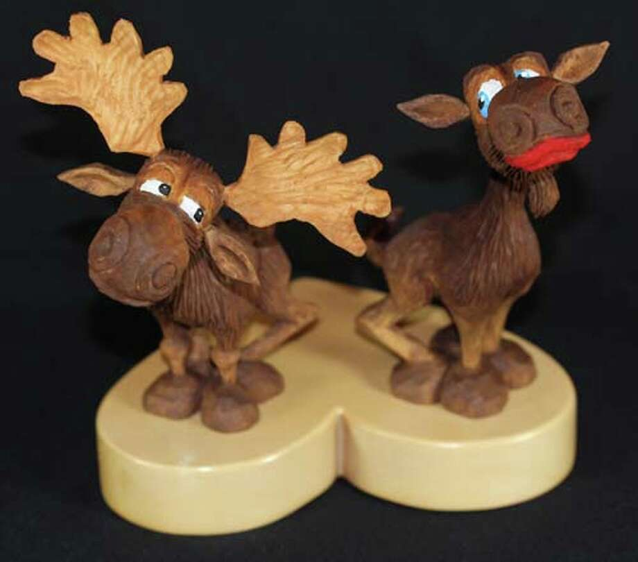 Select works from the alamo area wood carvers club