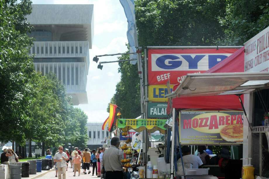 Photos new york state food festival times union for Plaza motors albany ny