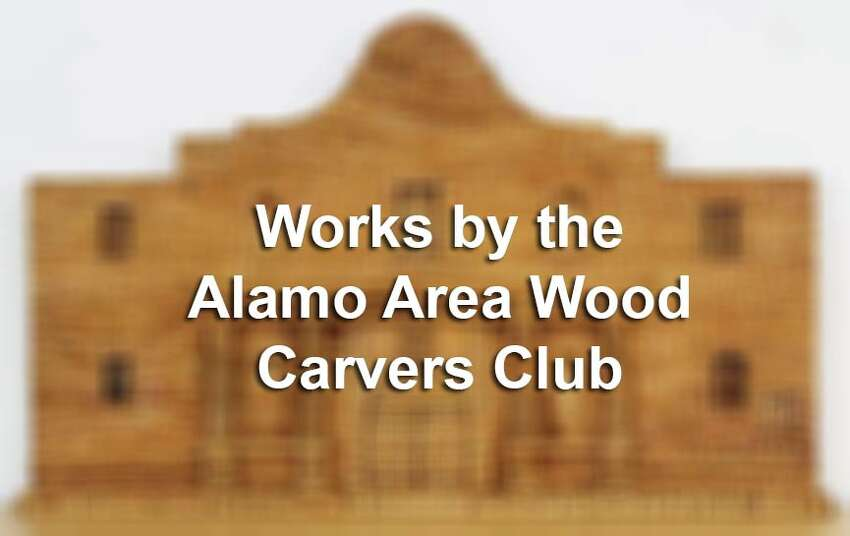 Click through the slideshow to see an assortment of items carved by members of the Alamo Area Wood Carvers Club.