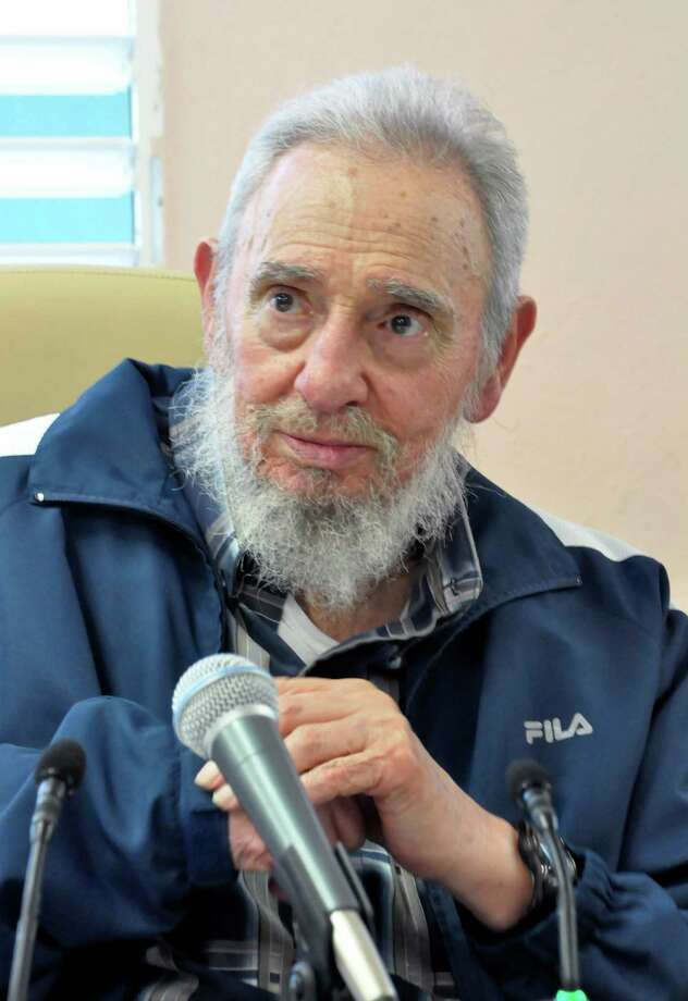 In this picture taken Tuesday, April 9, 2013 and released by Cuba's state newspaper Granma, Cuba's Fidel Castro attends the inauguration ceremony of the Vilma Espin Guillois school in Havana, Cuba. (AP Photo/Granma/Estudios Revolucion) / Granma
