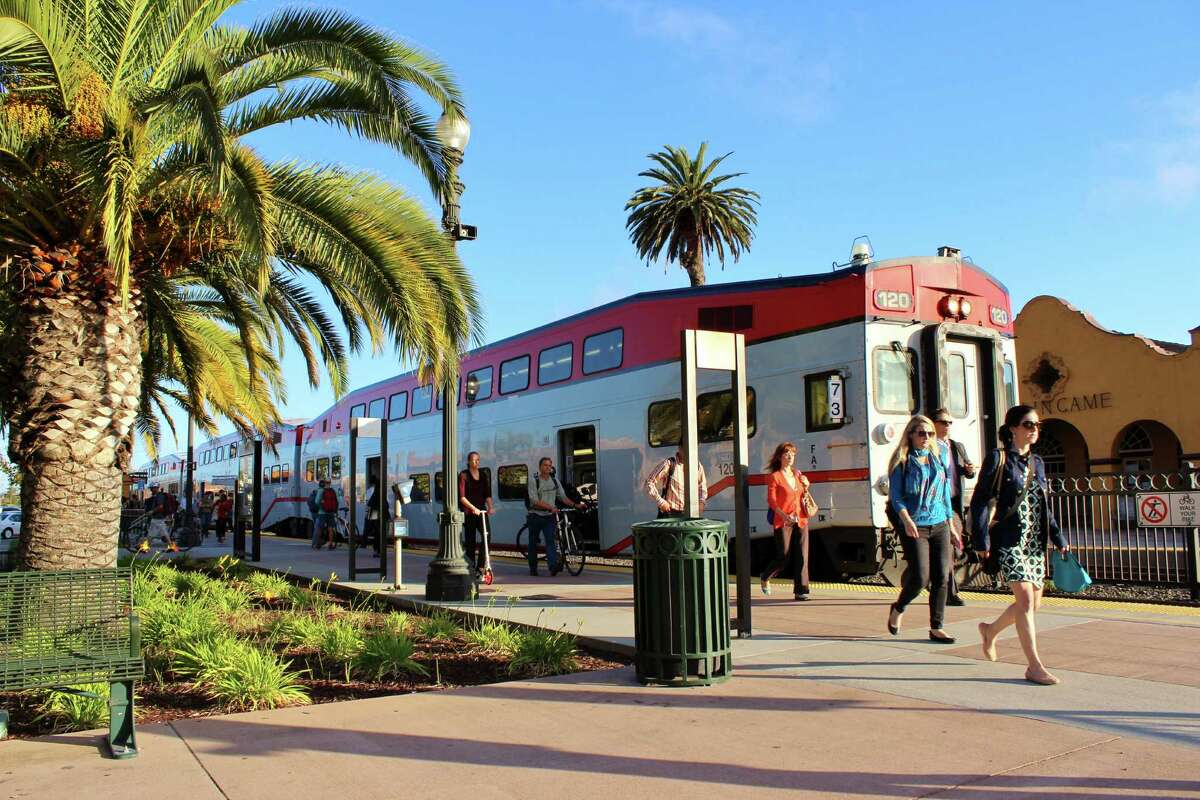 Utilized by Caltrain today, the Burlingame train station dates back to 1894.