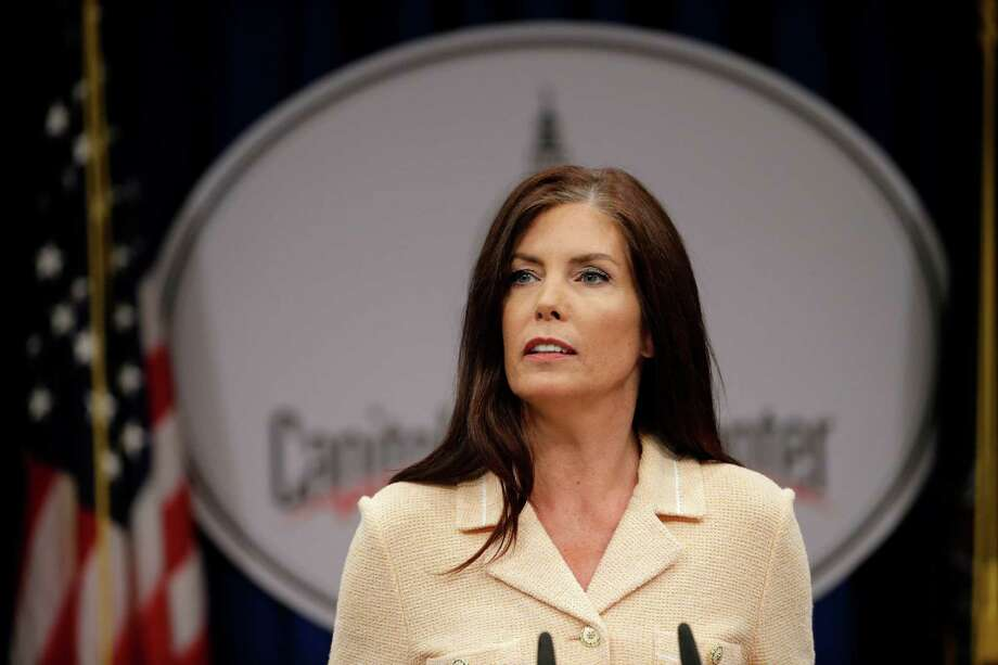Attorney General Kathleen Kane has suggested she's a polit- ical target. Photo: Matt Rourke /Associated Press / AP