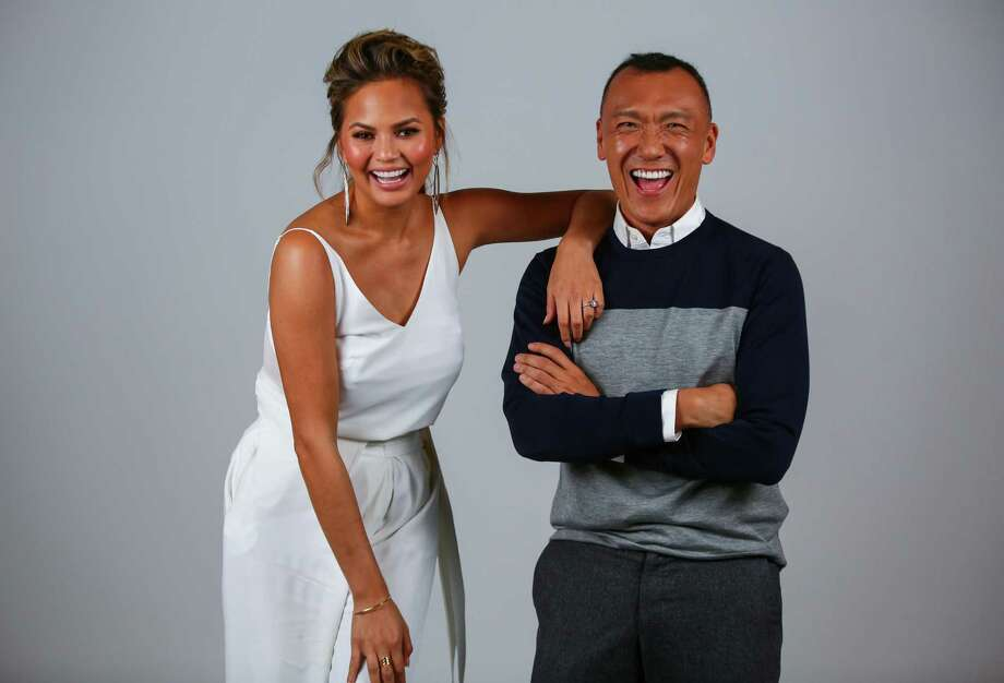 "Supermodel Chrissy Teigen, who used to live in Snohomish, is now set to co-host a new daytime television show, ""THE F·A·B"" (The Fun and Beautiful), with features editor-in-chief and executive creative officer of Yahoo Style Joe Zee. The show will be moderated by supermodel and TV personality Tyra Banks and also features interior designer Lauren Makk, and and DIY stylist Leah Ashley. Teigen and Zee came through Seattle promoting the show, which premieres next month. Click through the gallery to learn more about the pair who sat down with seattlepi.com for a Q&A. Photo: JOSHUA TRUJILLO, SEATTLEPI.COM / SEATTLEPI.COM"