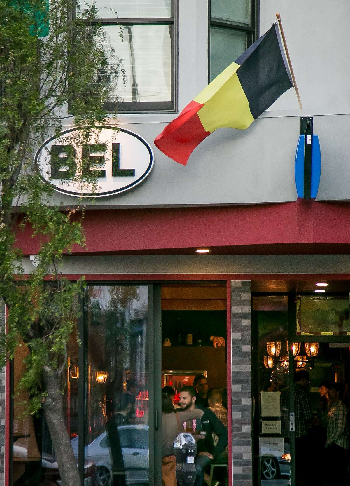 The exterior of Bel in San Francisco, Calif., is seen on August 11th, 2015.