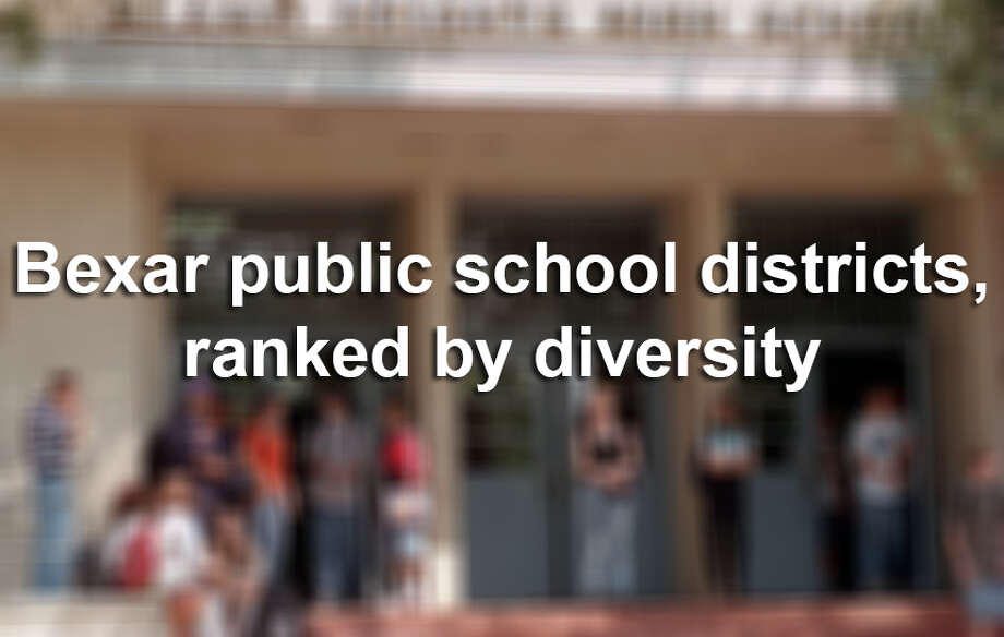 Despite its many enriching qualities, San Antonio's Hispanic history and demographics may actually make the city less diverse, and nowhere is this more clear than our public school districts. Texas Education Agency numbers for 2013-2014 show that in nine of the area's 15 school districts, one race is dominant, representing 60 percent or more of the student population. In some districts a single race makes up over 90 percent of the student population. Read more Photo: DELCIA LOPEZ, San Antonio Express-News